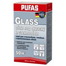 Клей EURO 3000 Glass для стеклообоев и обоев под покраску 500гр.