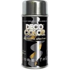 Краска CHROME EFFECT DECO COLOR / серебрянный 400 мл