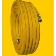 Шланг пластмассовый для Project Pro 119, желтый 15м