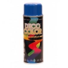 Краска ACRYL METALLIC голубой 400 мл DECO COLOR