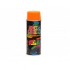 Краска FLUORESCENT DECO COLOR / оранжевый 400 мл